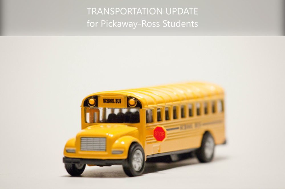 Transportation Update for PRJVS students