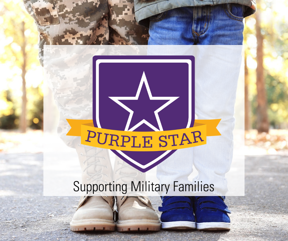 WHS Earns Purple Star Award